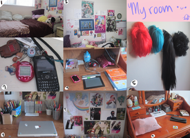 My room wowee by DuckyDeathly