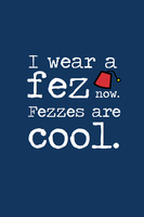 I wear a fez now. by inkandstardust