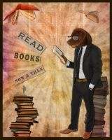 Book Dog Thing by surlana