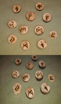 Wooden Pendant Necklaces **FOR SALE** by Wonderful-Potato