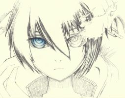 Black Rock Shooter W.I.P. by TheN00bie