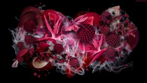 Smoke and Magenta by StarwaltDesign
