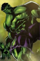 Commission: Incredible Hulk by K-Bol