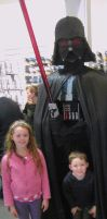 Darth Vader by mikedaws