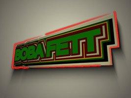 Boba Fett Banner by WoundedCoast