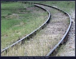 Dissappearing tracks by classictrains