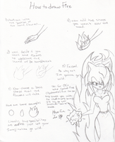 How to draw fire by Dark-Amy-Rose