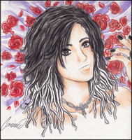 Bill:: Bed of roses. by Monsunwind