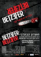 BETZEFER - band flyer by Shimp