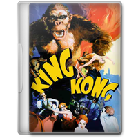 King Kong (1933) Movie DVD Icon by A-Jaded-Smithy