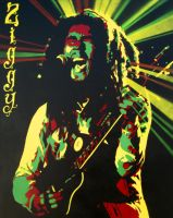 Ziggy Marley by Gcrackle1