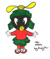 Marvin the Martian baby by starfire808