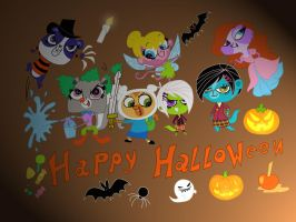 LPS Halloween by HeinousFlame