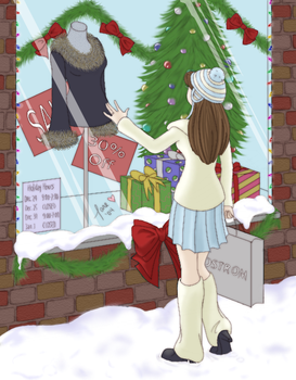 Just This Once -Happy Holidays by twin-blades