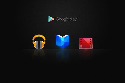 Google Play icons by Draganja