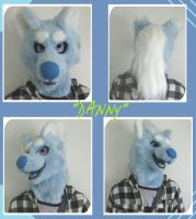 ~Danny~ The corgi-wolf by HoneyspydeR