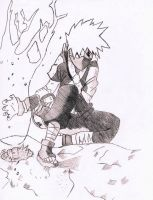 Kakashi Sketch by Mochimii
