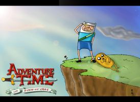 Old Finn and Jake by MagnaniOulfer