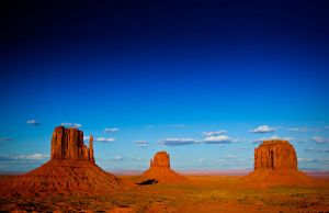 Sunset at Monument Valley by gursesl