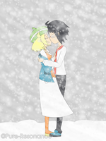 Commission: Snowstorm Kiss by Pure-Resonance