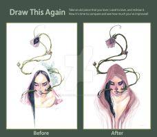 Draw it Again - Infection by JennaleeAuclair