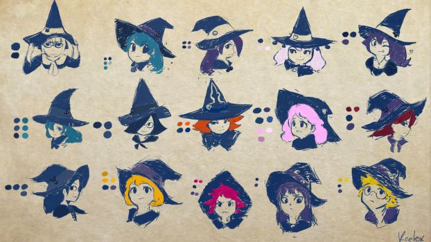 Witches by Keetox