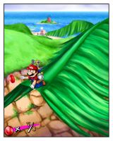 Mario just wants to go home... by ChemicalAlia