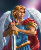 Archangel Michael by milesboard