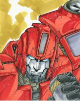 ironhide by markerguru