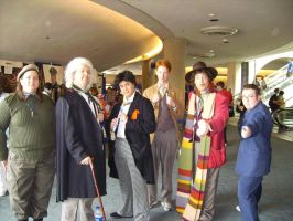 The second Doctor meet by Cheshirefox