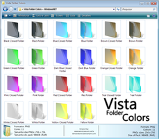 Vista Folder Colors by WindowsNET