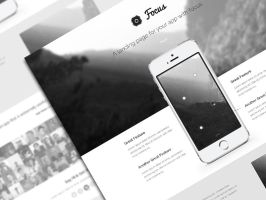 Focus PSD Theme Freebie by bestpsdfreebies