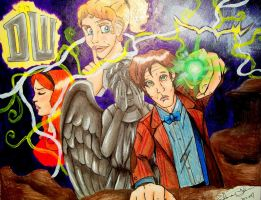 Whodoodle The Time of Angels by ShannaVictoria16