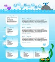 Web Theme : Under the Sea by macangadungan