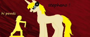 pewdie pony and stephano by palermo12