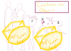 .: Customs : OPEN 7/10 :. :READ ALL THE RULES :. by SugarLemons-Adopts