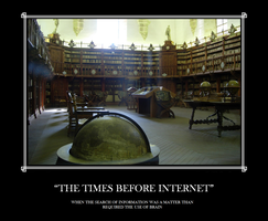 The times before internet by acfierro