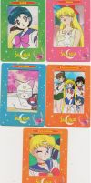 Sailor Moon Film Cards by hollystarlightanime