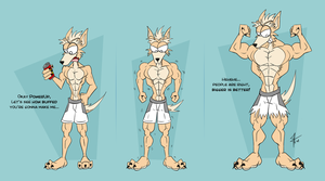 PCom - Umber's muscle growth by McTaylis