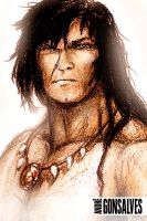 Conan - Portrait of a Barbarian by Dreos24
