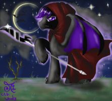 My last Free Individual commission - Voidus by ChibiWendy