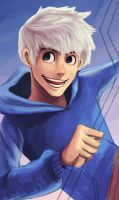 RotG: Jack Frost WIP by cherlye