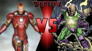 Death Battle Iron Man vs. Lex Luthor thumbnail by SteveIrwinFan96