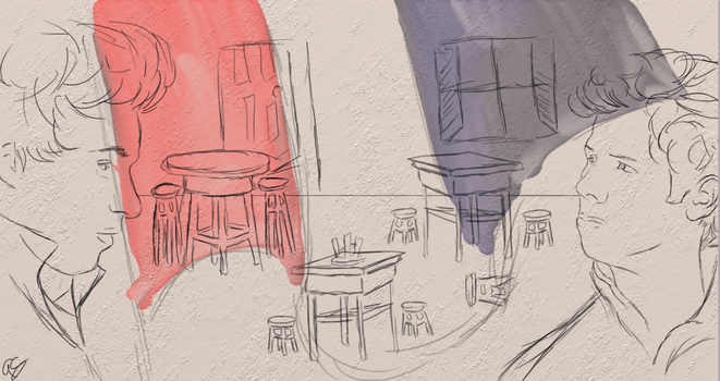 Not so Empty Chairs - Les Mis Contest by AustrianArtemis