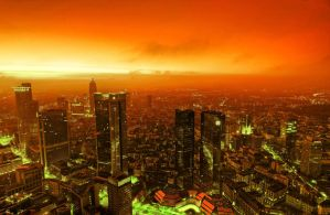 Burning City II by deoroller