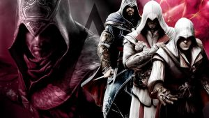 Assassins Creed DesktopBG EZIO by xNaschi