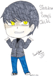 Shadow Souji Chibi by otaku-hime95