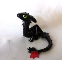 Toothless Sculpture by ByToothAndClaw