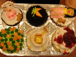REAL Cupcakes by MotherMayIjewelry