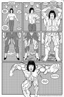 Commission Muscle Growth Sequence by darrellsan